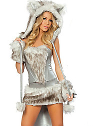 YYJ Women's Gray Animal Cosplay Suit