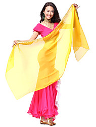 Dancewear Chiffon Belly Dance Veils for Ladies(More Colors)