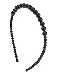 Moda Blanco / Negro Perla vendas para las mujeres