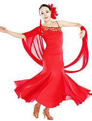Dancewear Viscose And Tulle Dance Outfits For Ladies(More Colors)