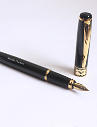 Personalized Black Classic Metal Ink Pen