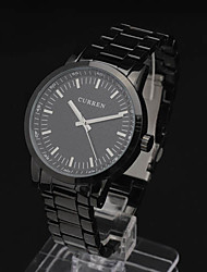 Men'S Fashion Pc Movment Steel Band Wrist Watch