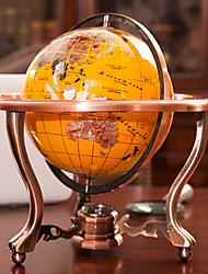 "13.75""Stone Colorful Globe(Color Randomed)"