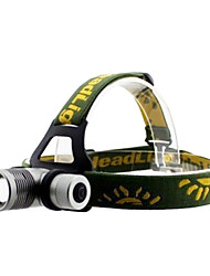 GD20 3-Mode Cree XP-E Q5 LED Headlamp with Colorful Filters (240LM, 1x18650, Gray)