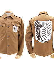 Attaque sur Titan Shingeki pas Kyojin Eren Jager Scoutisme Légion Cosplay Shirt / Manteau