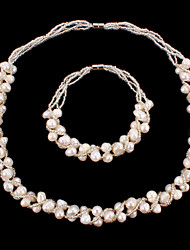 Women's Jewelry Set Pearl