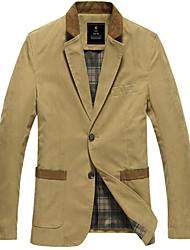 Casual Slim Suit Anglais pour hommes