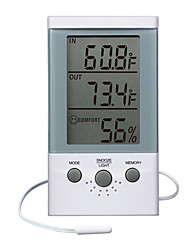"4.5 ""Outdoor Medição Weather Clock"