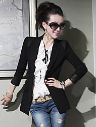 Beier casaco único boutton slim-encaixe das mulheres