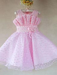 Vestido de la flor de Rose partido de los niños de la muchacha