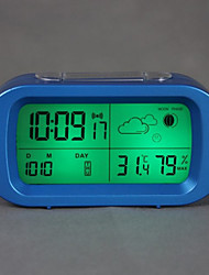 "5.5 ""Digital Agenda alarme Weather Clock"