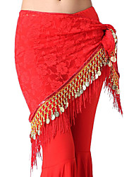 Dancewear Lace Belly Dance Belt With Tassels For Ladies(More Colors)