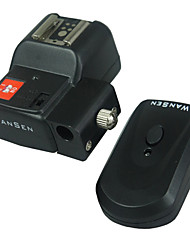 Wansen Wireless / Radio Flash Trigger con portaombrelli con 2 ricevitori