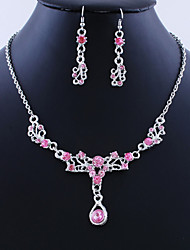 Jewelry Set Women's Birthday / Gift / Party / Daily / Special Occasion Jewelry Sets Alloy Necklaces / Earrings As the Picture