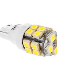 Ampoule T10 20x3528SMD 194 168 W5W 6000-6500K lumière blanche LED pour la voiture (12V)
