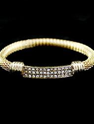 Liga de moda com Rhinestone Bracelet da Mulher