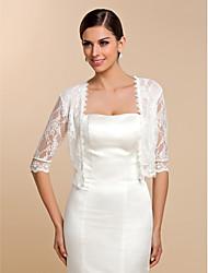 Half Sleeve Lace Casual/Evening Wraps/Evening Jacket Bolero Shrug