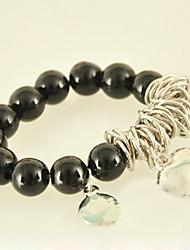 Women's Charm Bracelet Alloy/Acrylic