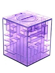 Money Maze Coin Box Puzzle Game Prize Saving Bank within a Ball(Random Color)