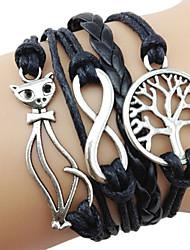 Vintage 7Cm Women'S Black Fabric Wrap Bracelet(Black)(1 Pc) inspirational bracelets Christmas Gifts