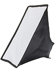 20x30 universale pieghevole Camera Speedlight Softbox (nero)