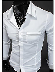 Man's Long Sleeve Cotton Shirts