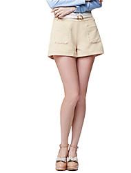 PowerSweet Frauen-Western-Art-beiläufige kurze Hosen