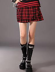 Escocia señora Cotton Punk Lolita Falda