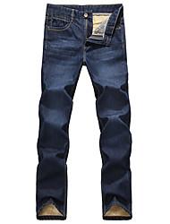 Men's Pant , Cotton Blend/Denim Casual