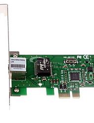 PCI-E 10M/100M/1000M Lan carta di Vista