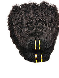 22inch 100% indiano virgem do cabelo humano afro Kinky Preto Natural Dyeable Grande 5A Hair Extension / Weave