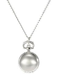 Damen Modeuhr Quartz Band Silber Silber