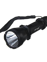 Romisen RC-T601 5-Mode del CREE XM-L T6 LED (1000LM, 1x18650, Negro)