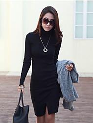 Negro Equipada Jag camisas de vestir de las mujeres YGR