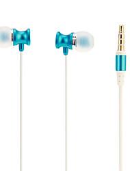 ULDUM haute qualité stéréo intra-auriculaires avec micro pour MP3, MP4, téléphone mobile