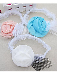 Girl's Mesh Flower Headband
