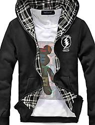 Both Sides Men's Hooded Jacket