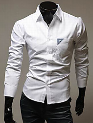Men's Tops & Blouses , Cotton Blend Casual/Work STJY
