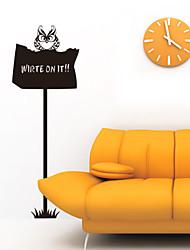 Escrever Animal em Owl Recados Blackboard Stickers