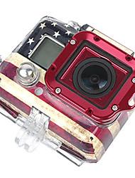 Completo GoPro aluminio Lanyard anillo de montaje Ver. 2 (rojo)