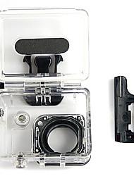 Outdoor Water Sport Waterproof Camera Case for Gopro Hero 3/3+ - Black + Transparent