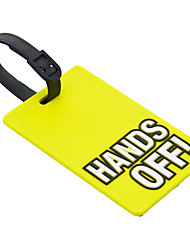 Travel Luggage Tag - HANDS OFF