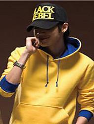 Moda pulôver dos homens Ynk (amarelo e azul)