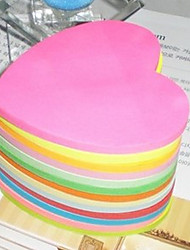 Heart Shape Multicolor Sticky Note(100 Pages)