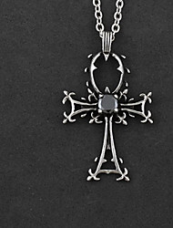 Uncanny Cross Pattern Alloy Gothic Lolita Necklace
