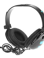 KM-610 Super-Bass Headphones de alta qualidade com microfone para computador, celular