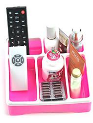 Modern Desktop Convenient Plastic Storage Container - 3 Colors Available