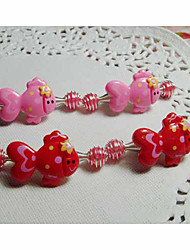 Children's Strawberry Hair Clip(4/set)