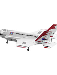 Lan Xiang F-35 70 millimetri EDF 8CH RC Airplane RTF (Thunderbird)