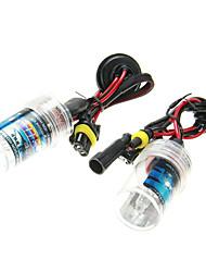 2 pezzi di auto H11 Luci Xenon HID lampadine AC / DC 12V35W (4300-12000K facoltativo)